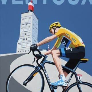 Froome on Ventoux