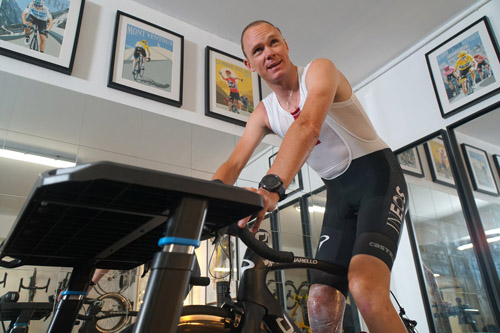Froomey's Training with Paintings by Simon Taylor
