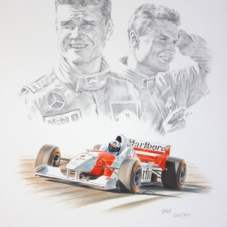 David Coulthard Autographed