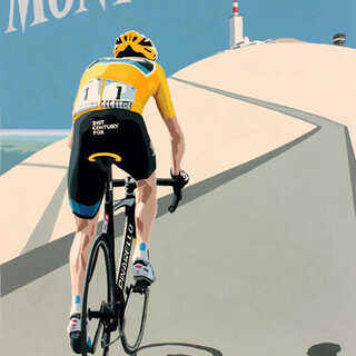 Froome on Mont Ventoux