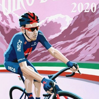 Giro 2020 Original Painting