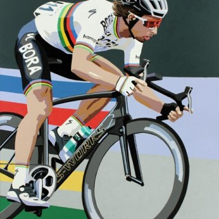 Peter Sagan World Champion Original Painting