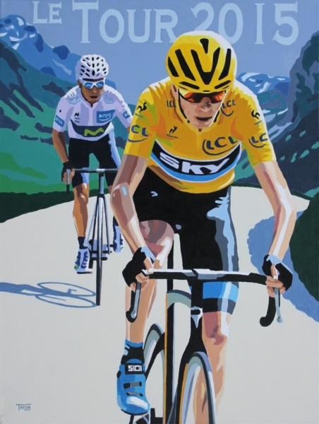 Tour de France 2015 Giclee print by Simon Taylor  ba0c04450