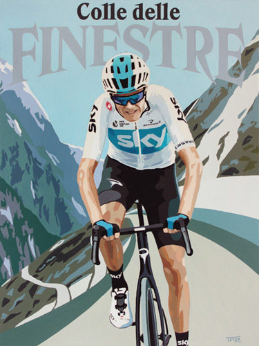 Froome on Finestre by Simon Taylor