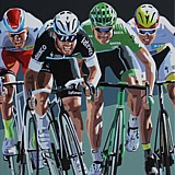 Cycling Art by Simon Taylor
